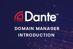 Dante Domain Manager, Introduction