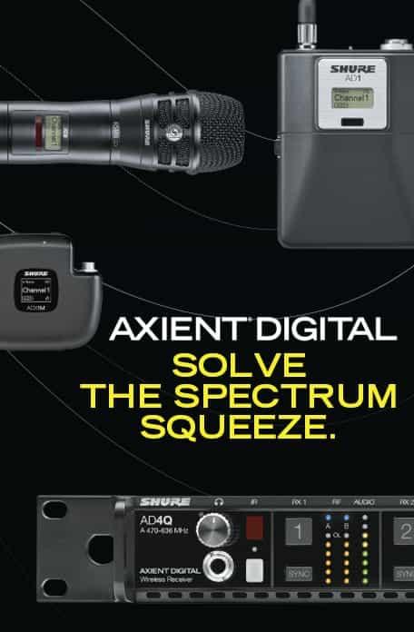 NMK Latest News | Shure Axient Digital