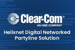 Helixnet Digital Networked Partyline Solution