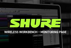 Wireless Workbench – Monitoring page
