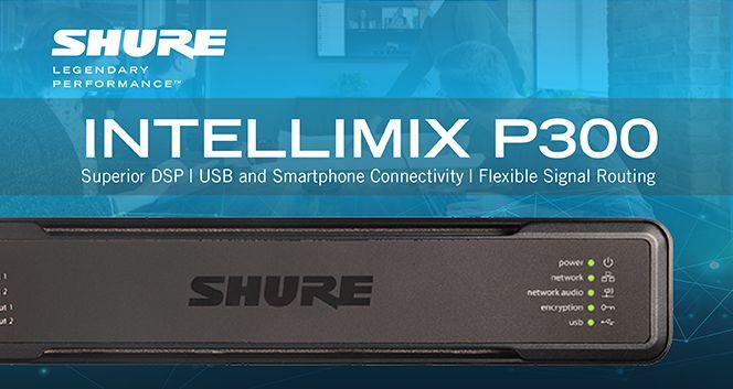 Shure - IntelliMix Audio Conferencing Processor