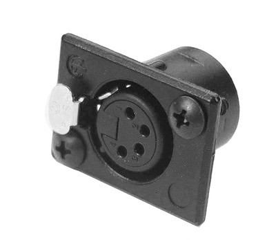 XLR-PS4 – 4-Pin XLR Panel Socket - News