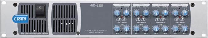 46-120 4 Zone Integrated Mixer Amplifier - News