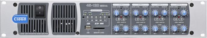 46-120TMedia 4 Zone Integrated Mixer Amplifier - News