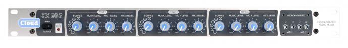 CX263 3 Zone Mixer - News