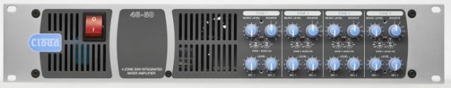 46-50 4 Zone Integrated Mixer/Amp - News
