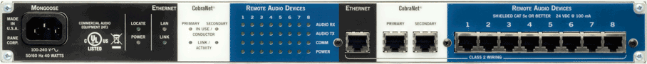Mongoose Network Audio Router - News