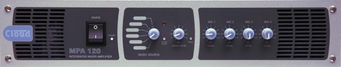 MPA120 120W Mixer/Amplifier - News