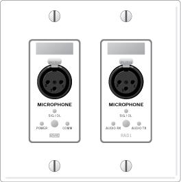 RAD1 – Dual XLR Mic Inputs - News