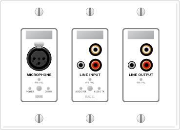 RAD11 – XLR Mic Input / Mini & RCA Mono'ed Line Input / Mini & RCA Stereo Line Output - News