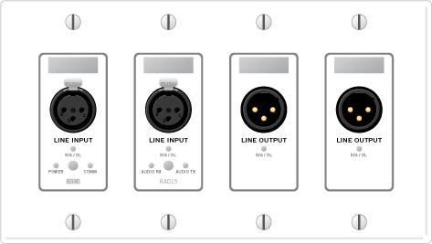 RAD15 – Dual XLR Line Inputs / Dual XLR Line Outputs - News