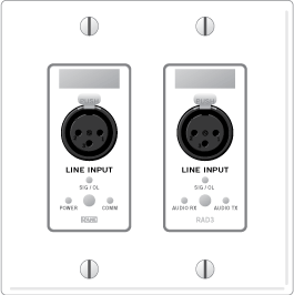 RAD3 – Dual XLR Line Inputs - News