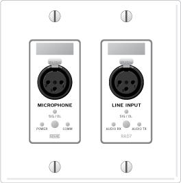 RAD7 – XLR Mic Input / XLR Line Input - News