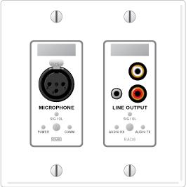 RAD8 – XLR Mic Input / Mini & RCA Stereo Line Output - News