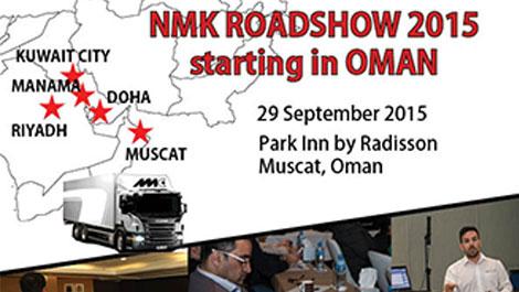 NMK Roadshow 2015 starting in Oman - News