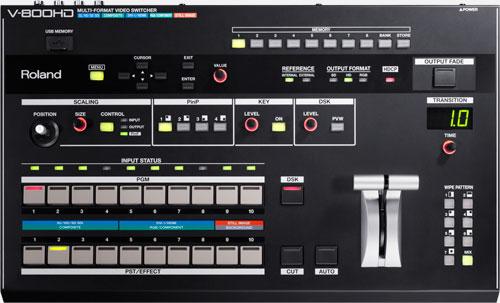 V-800HD - News
