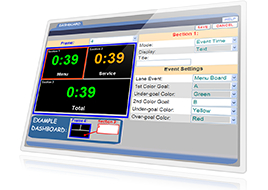 ZOOM DRIVE-THRU TIMER WITH GRAPHICAL DASHBOARD DISPLAY - News