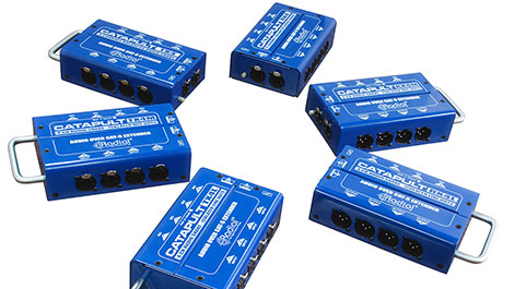 Radial's new 4-channel audio snake, the Catapult™, is now shipping - News