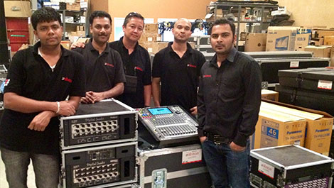 Abacus Rentals Invest in Roland Audio Solution - News