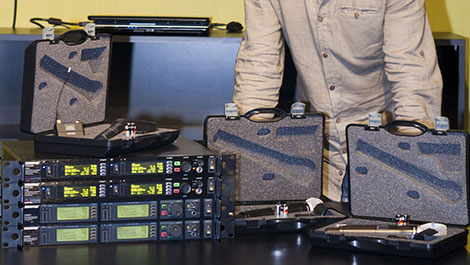 Glow Productions invest in Shure - News