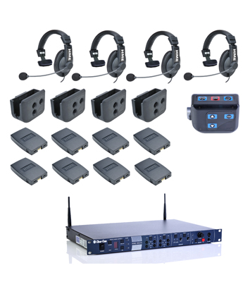 Clear-Com – CZ11513 4-up HME DX210 System - News