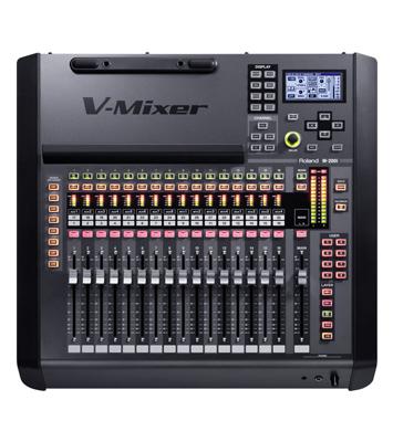 Roland – M-200i iPad V-Mixer 32-Channel Digital Mixing Console - News