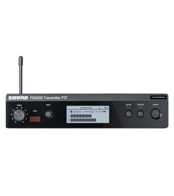 Shure – PSM 300 Wireless Transmitter P3T Band J13 - News