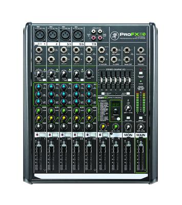 Mackie – ProFXv2-UK 8 channel Professional Effects Mixer w/USB - News