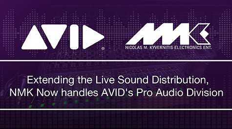 Avid appoints NMK Electronics Ent. as Pro Audio Division Distributor
