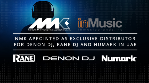 inMusic Announces Sector Specialist NMK Electronics As Exclusive Distributor For Denon Dj, Rane Dj And Numark In the UAE