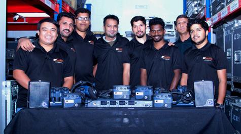 Artes Middle East Trusts Clear-Com FreeSpeak II Wireless Intercom Capabilities