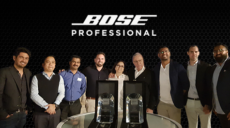 NMK Receives 2 Awards @Bose Distributor Event