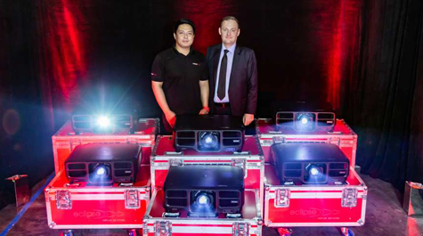 Eclipse Venue Services Invests in Epson 15K Laser Projectors - News