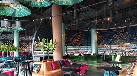 The Finest 'W Hotel' in Abu Dhabi installs Bose Professional Audio Systems