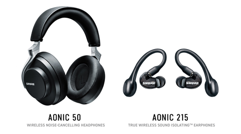 Shure Announces Upcoming Campaign with Adam Levine to Launch New AONIC Line of Wireless Noise-Cancelling Headphones and True Wireless Earphones - News
