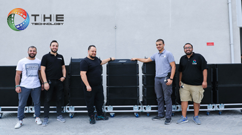 The Technology Chooses Bose Professional ShowMatch