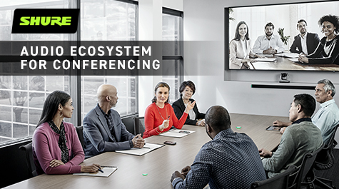 Shure completes conferencing ecosystem