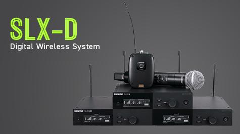 Shure Introduces Slx-D Digital Wireless System - News